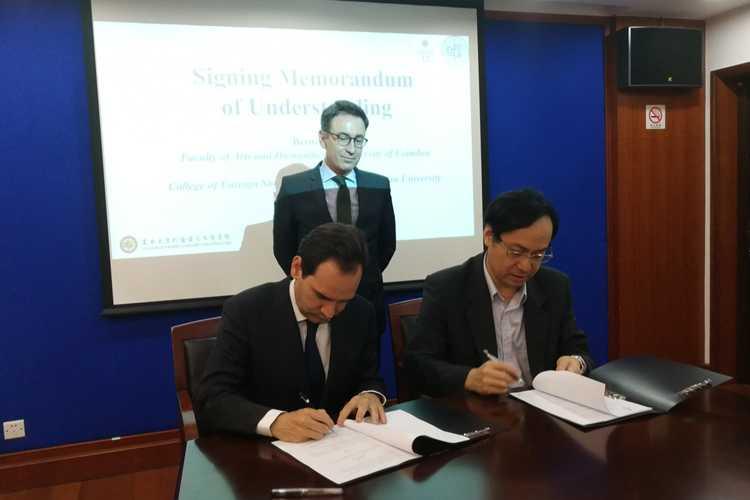 Jornal Campeão: UC e Universidade de Xangai assinam protocolos de cooperação