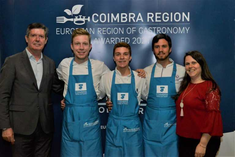 Jornal Campeão: Bernardo Calvo é o vencedor do Região de Coimbra Young Chef Award