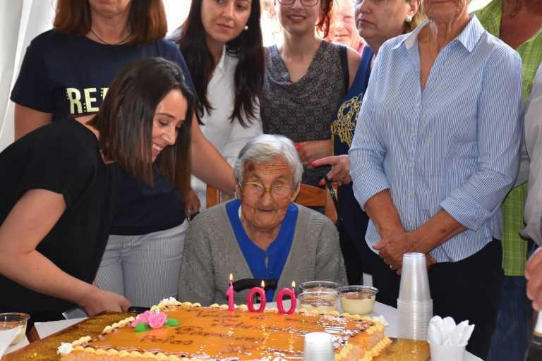 Jornal Campeão: Emília Cação da Ereira celebrou centésimo aniversário