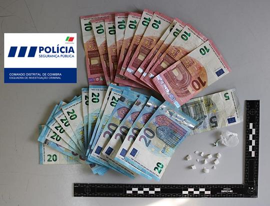 Jornal Campeão: Jovem constituído arguido por tráfico de droga em Coimbra