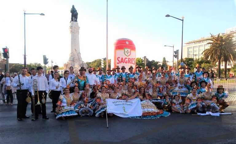 Jornal Campeão: Ribeira de Frades abriu as Marchas Populares de Lisboa