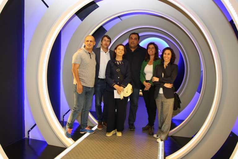 Jornal Campeão: Condeixa: Museu PO.RO.S visitado pela secretária de Estado do Turismo
