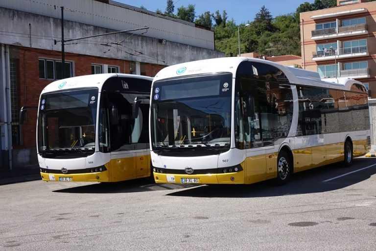 Jornal Campeão: Câmara compra mais cinco autocarros 100% eléctricos para os SMTUC