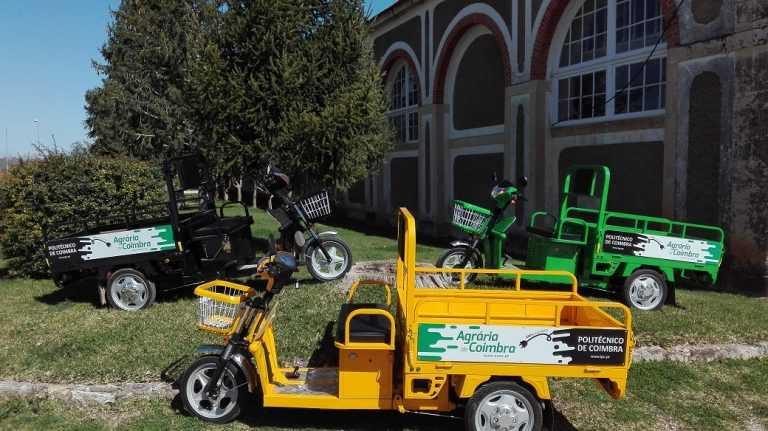 Jornal Campeão: ESAC aposta em veículos eléctricos para colaboradores