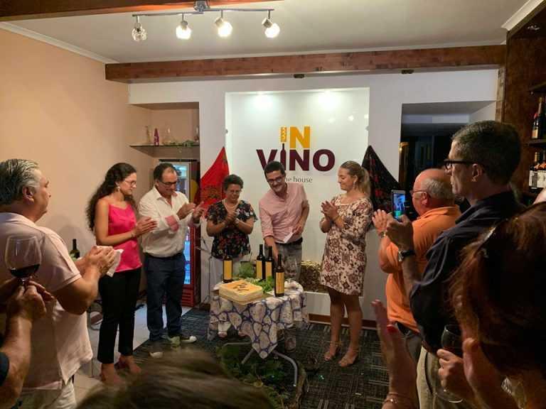 Jornal Campeão: Família Alegre apresenta nova marca de vinho em Condeixa