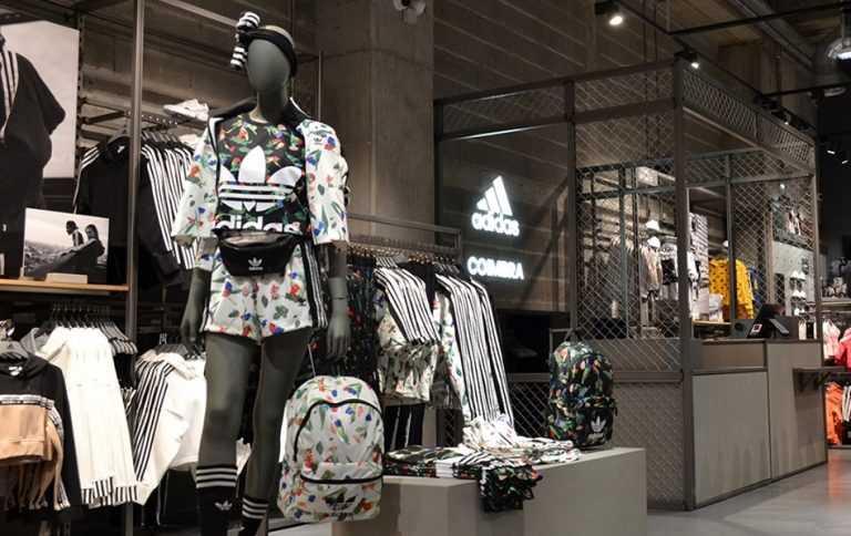 Jornal Campeão: Adidas estreia-se em Coimbra com loja no Forum