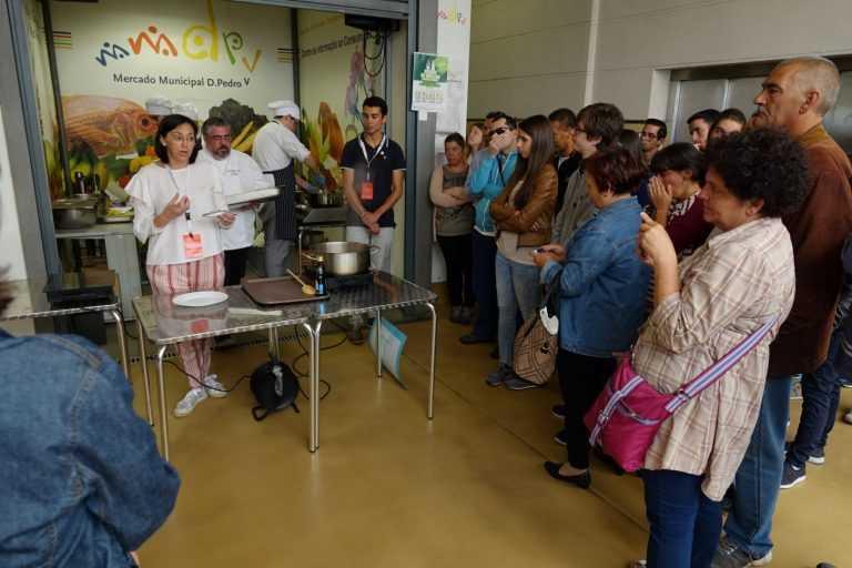 Jornal Campeão: Coimbra: Refeições saudáveis e coloridas aprendem-se no Mercado