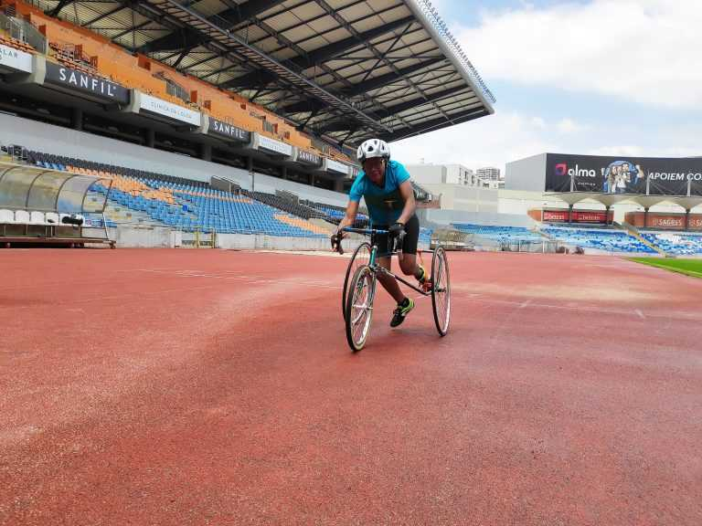Jornal Campeão: Sandra Semedo conquista o ouro na Taça Internacional de Tricicleta