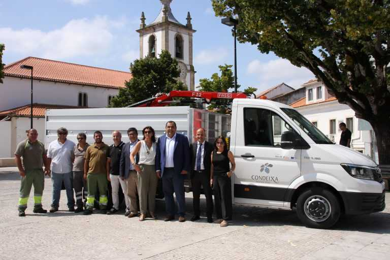 Jornal Campeão: Condeixa-a-Nova recebe veículo de recolha de resíduos verdes