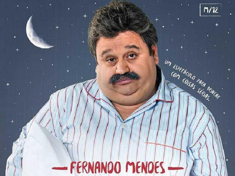 """Jornal Campeão: Figueira da Foz: """"Insónia"""", com Fernando Mendes, sobe ao palco do CAE"""