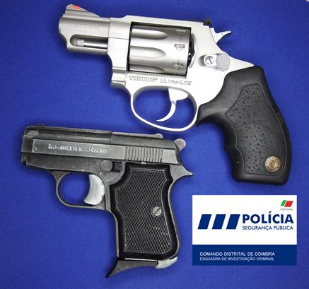 Jornal Campeão: Coimbra: Detido com armas proibidas em processo de violência doméstica