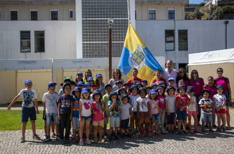 Jornal Campeão: Pampilhosa da Serra: Hastear da Bandeira anuncia início das festas