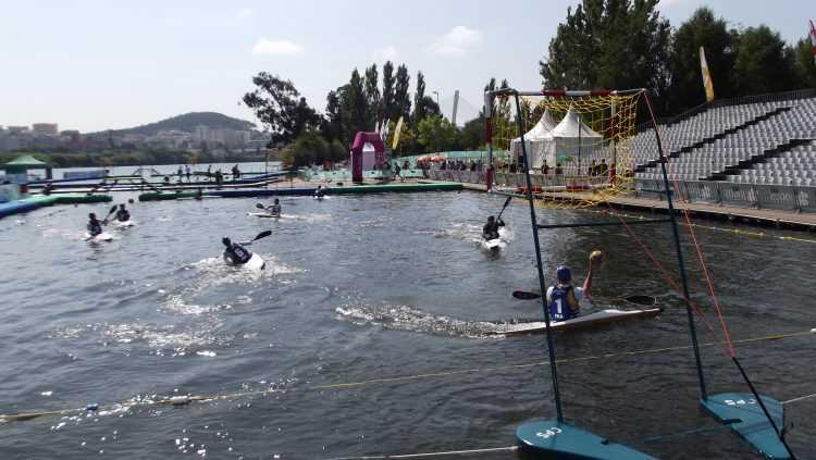 kayak polo - rio Mondego
