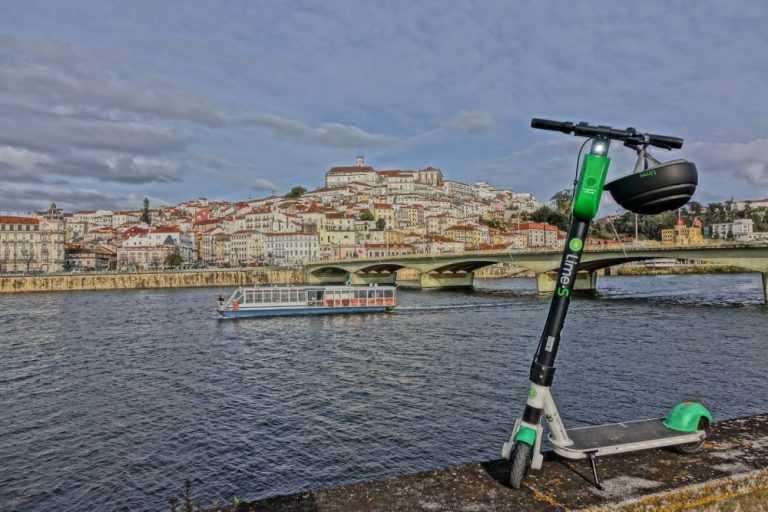 Jornal Campeão: Operadora de trotinetas eléctricas interrompe circulação em Coimbra
