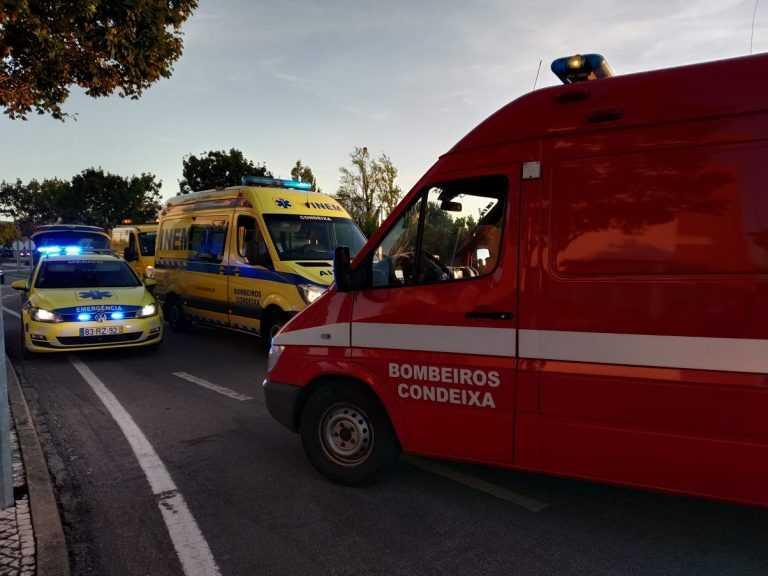 Jornal Campeão: Condeixa-a-Nova:Acidente entre ligeiro e motociclo provoca dois feridos