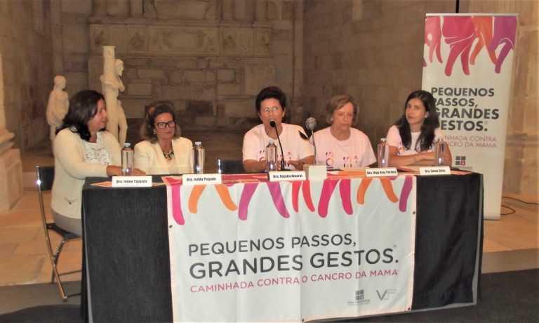 Jornal Campeão: Milhares caminham contra o cancro da mama para sensibilizar a região