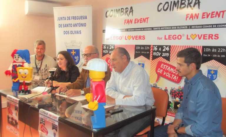 Jornal Campeão: Mundo do Lego regressa ao Estádio Cidade de Coimbra em Novembro