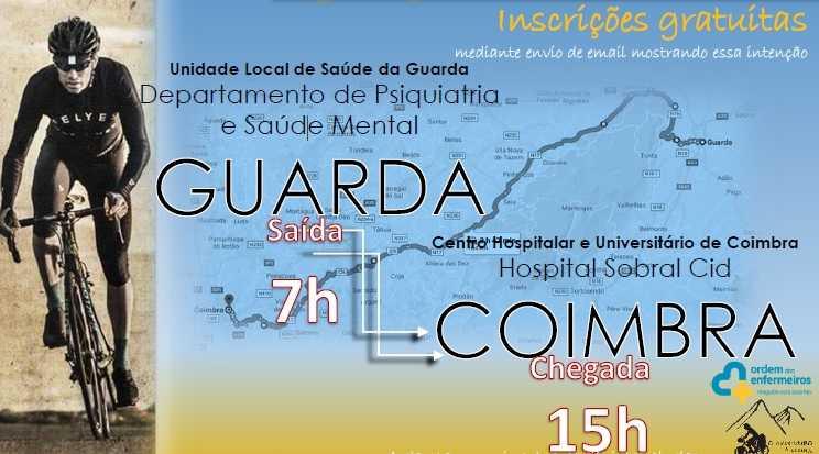 Jornal Campeão: Dia da Saúde Mental: Enfermeiro vai pedalar da Guarda a Coimbra