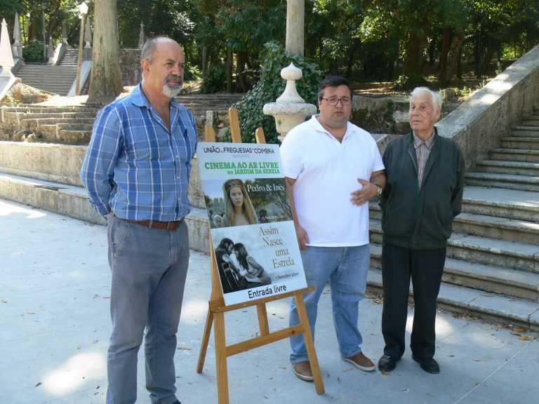 Jornal Campeão: União das Freguesias de Coimbra aposta em cinema ao ar livre