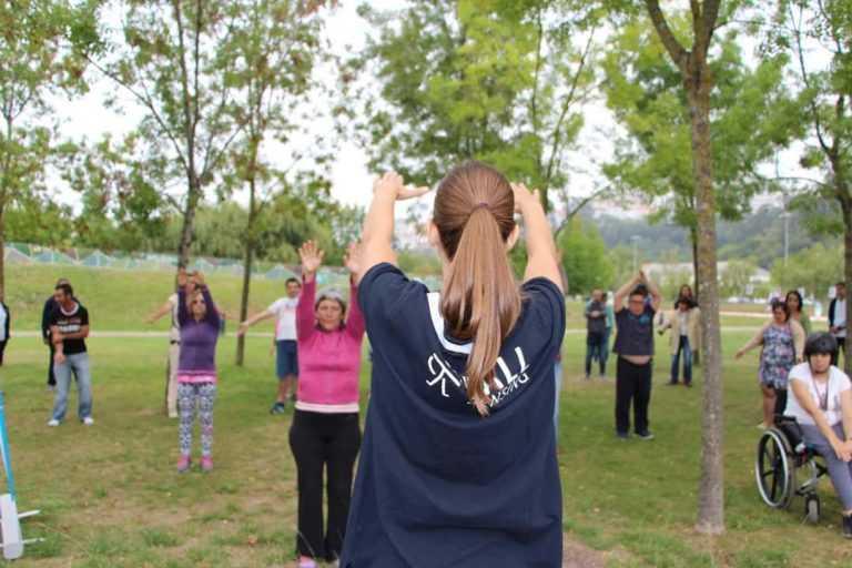Jornal Campeão: Dia da Fisioterapia assinalado com actividades no Parque Verde