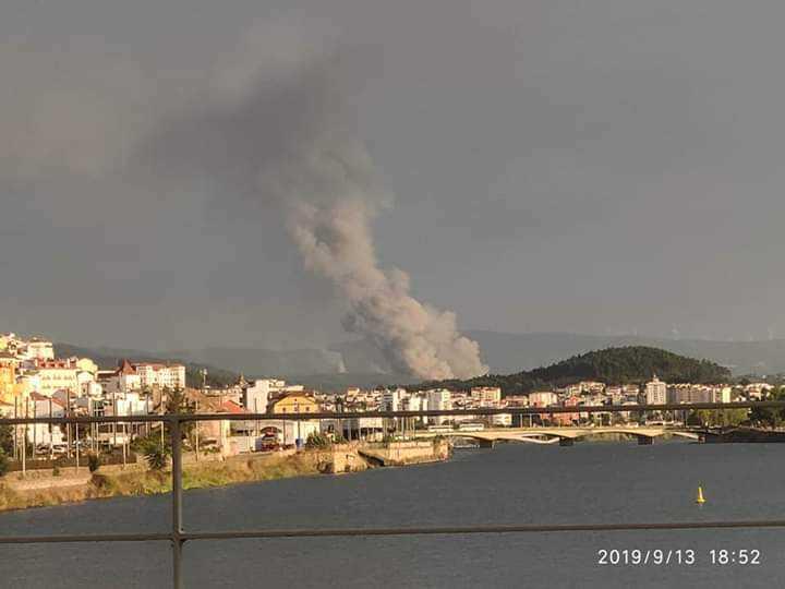 Jornal Campeão: Incêndio de Miranda do Corvo aproximou-se de quatro povoações