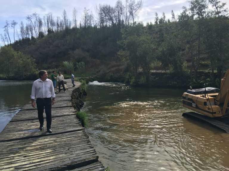 Jornal Campeão: Município de Penacova retoma obras no rio Alva