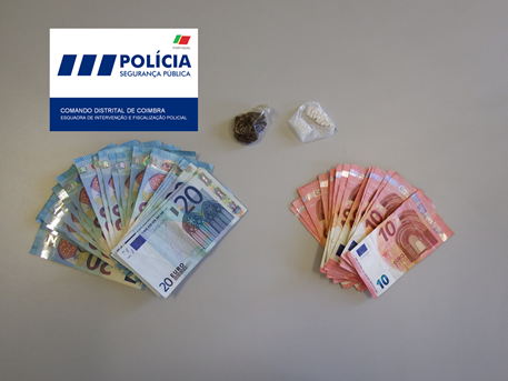 Jornal Campeão: PSP deteve nove pessoas, duas por tráfico de droga em Coimbra