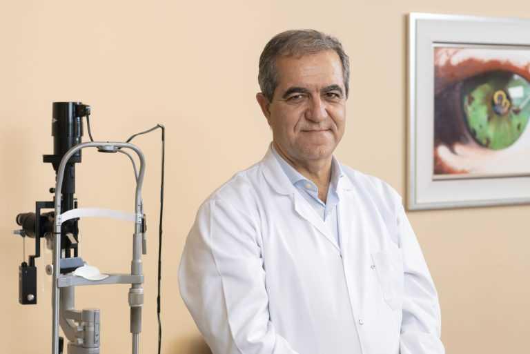 Jornal Campeão: Oftalmologista do CHUC lidera estudo sobre internacional sobre DMI