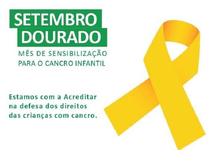 Jornal Campeão: Associação Acreditar promove campanha 'Setembro Dourado'