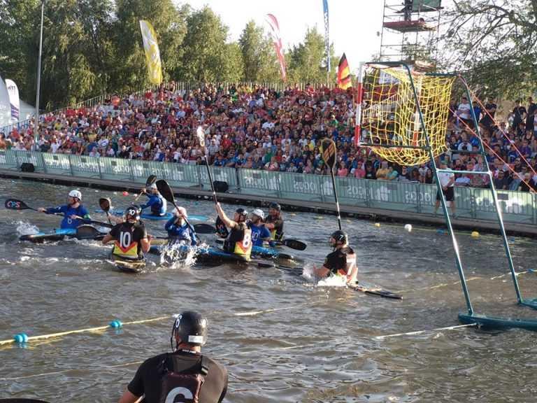 Jornal Campeão: Portugal em 12.º no Europeu de kayak polo ganho pela Alemanha