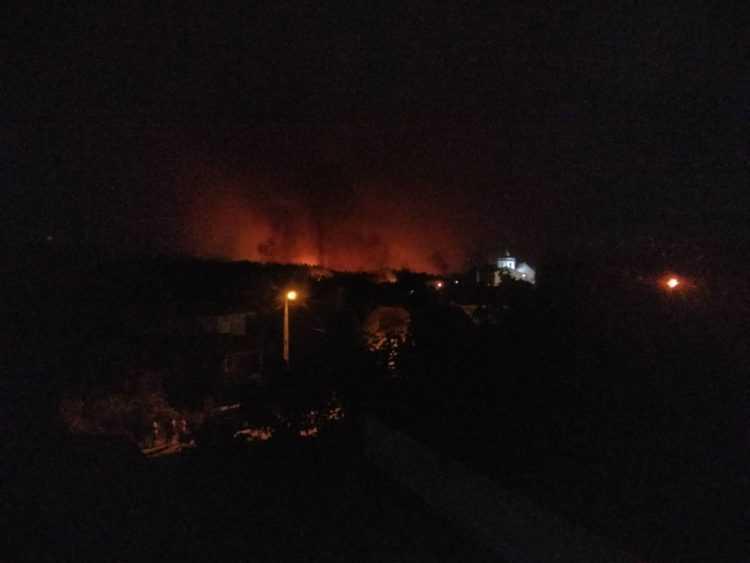 incêndio Almalaguês