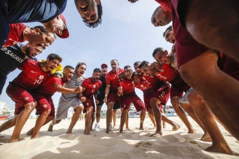 Jornal Campeão: Figueira da Foz: Portugal joga na Liga Europeia de Futebol de Praia