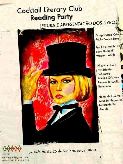 """Jornal Campeão: Coimbra: """"Cocktail Literário"""" na Praça do Comércio"""