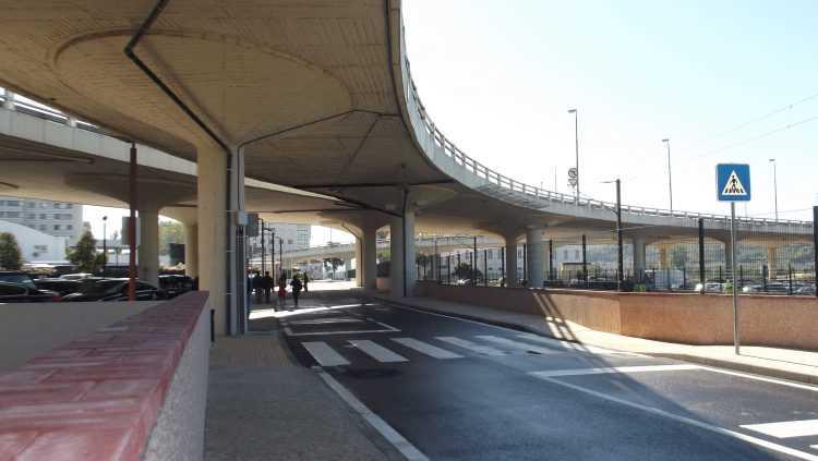 Nova via - Túnel do Choupal