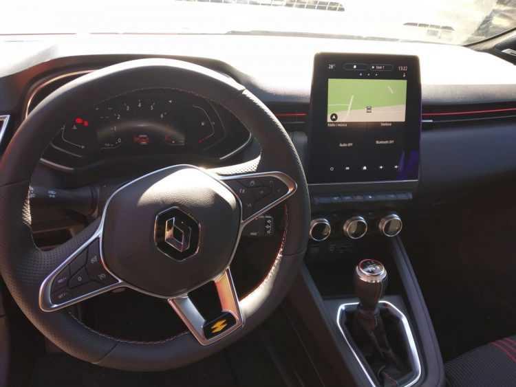 Novo Clio interior