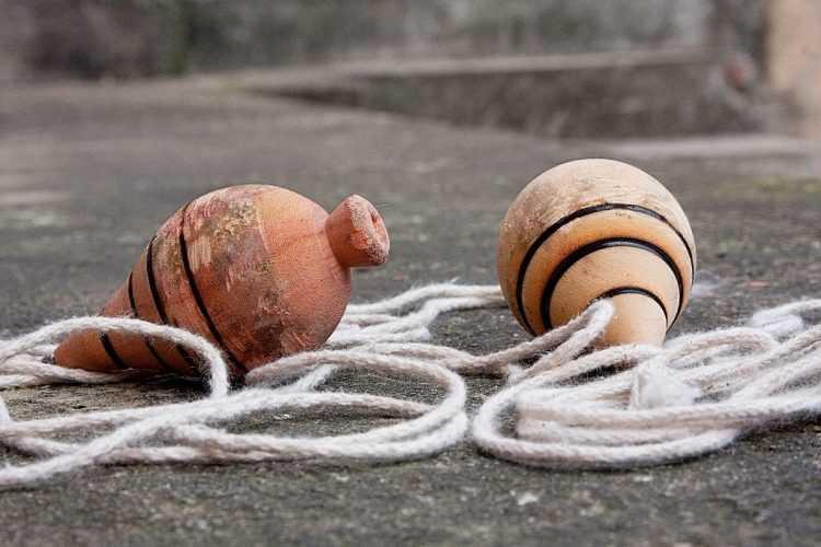 Pião Jogos tradicionais