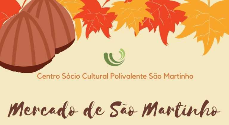 Jornal Campeão: Centro Polivalente promove 'Mercado de São Martinho'