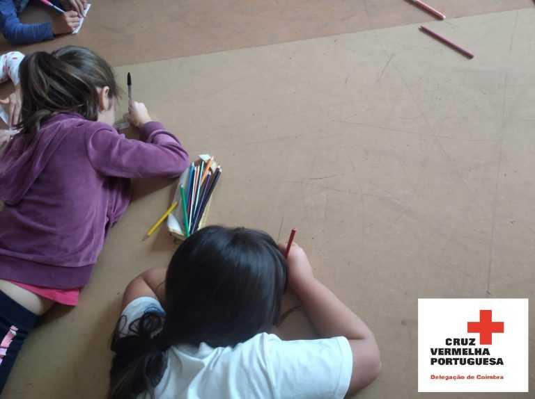 Jornal Campeão: Cruz Vermelha de Coimbra apoia crianças afectadas por catástrofes