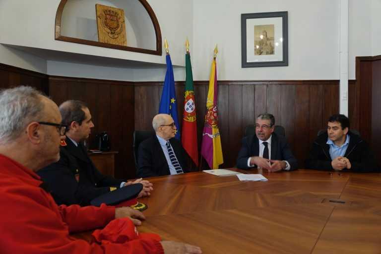 Jornal Campeão: Município de Coimbra apoia Bombeiros Voluntários de Coimbra e Brasfemes