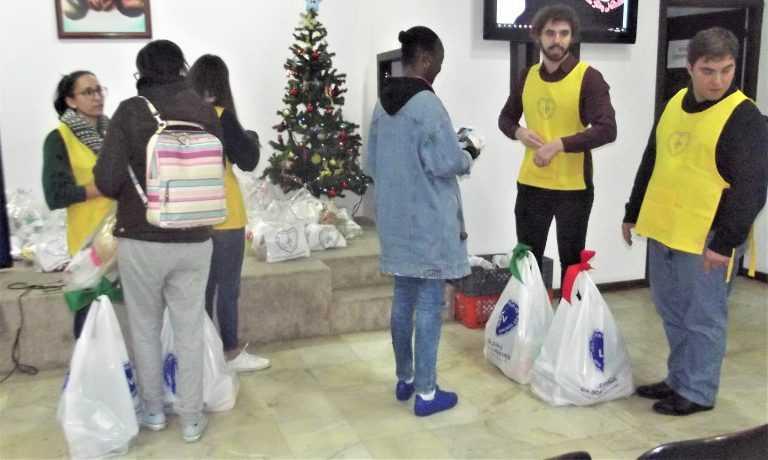Jornal Campeão: LBV promove solidariedade em forma de cabazes de Natal