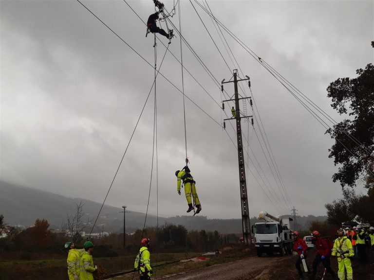 Jornal Campeão: Penela: EDP Distribuição realizou exercício de resgate em altura