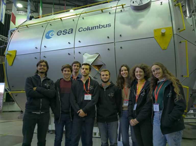 Jornal Campeão: Experiência de estudantes da UC vai à estratosfera