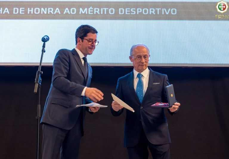 Jornal Campeão: Fausto Carvalho, da ACM, galardoado pelo Governo português