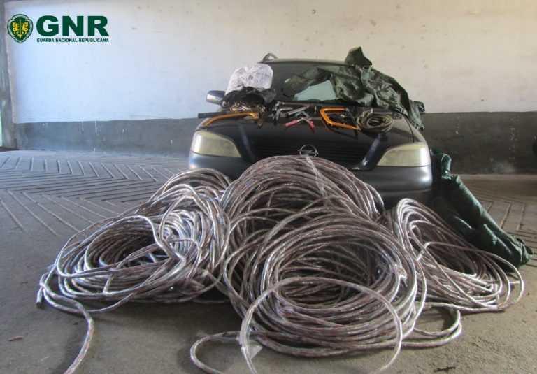 Jornal Campeão: Coimbra: GNR deteve dois homens por furto de metais não preciosos