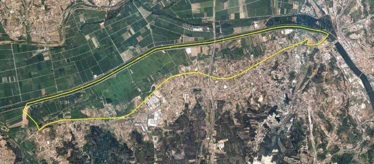 Mapa evacuação Coimbra