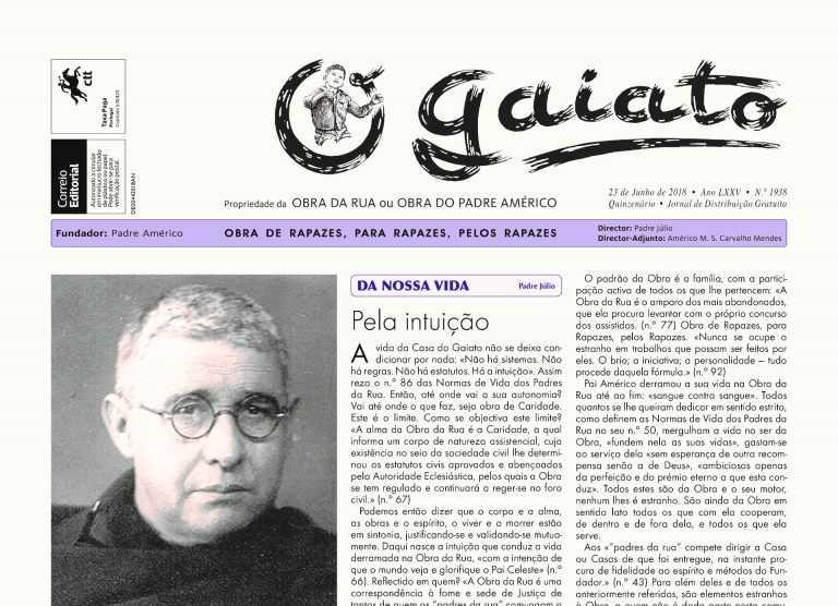 """Jornal Campeão: Padre Américo com """"virtudes heróicas"""" reconhecidas pelo Vaticano"""