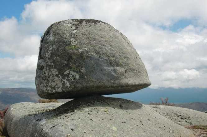 Pedras baloiçantes