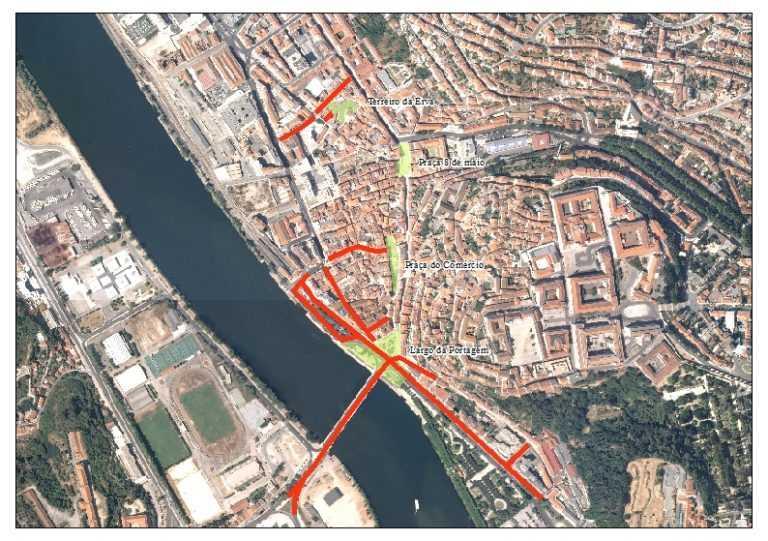 Coimbra Com Ruas Encerradas Para O Fim De Ano Campeao Das Provincias