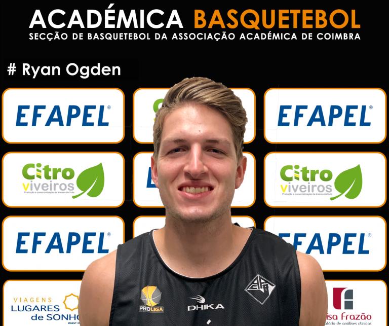 Jornal Campeão: Ryan Ogden reforça equipa da Secção de Basquetebol da AAC