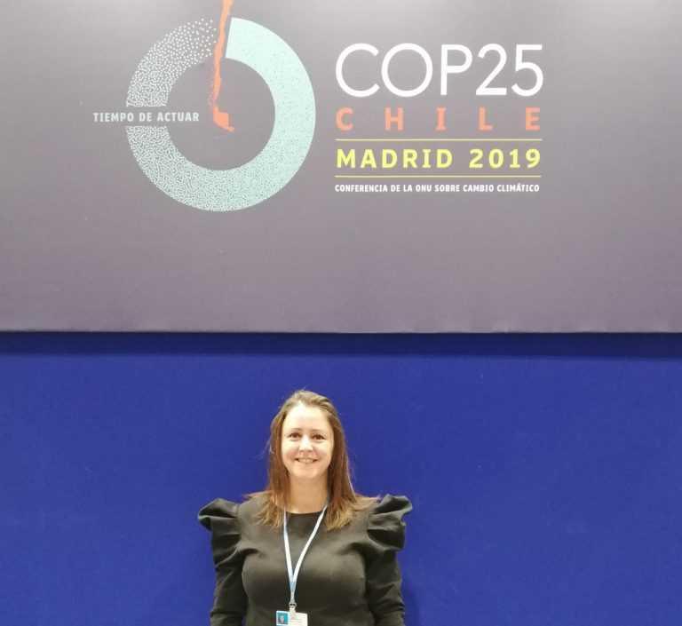 Jornal Campeão: Docente da ESTeSC marca presença na Cimeira do Clima